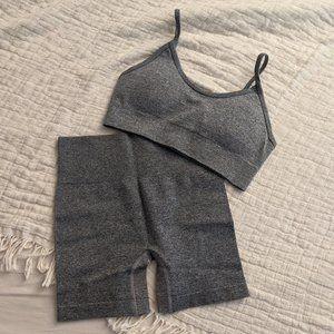 Grey Workout Set